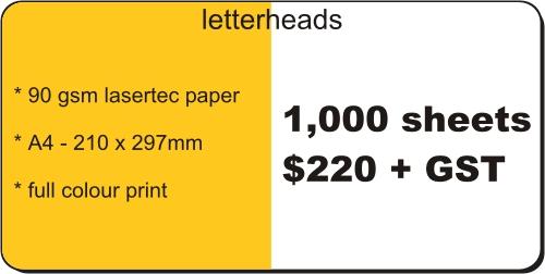 letterheadprice